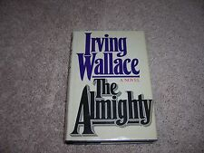 THE ALMIGHTY by Irving Wallace/1st Ed/Signed/HCDJ/Literature/Drama