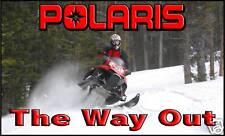 Polaris Snowmobile Banner Sign Flag   - IQ Dragon Switchback High Quality!!