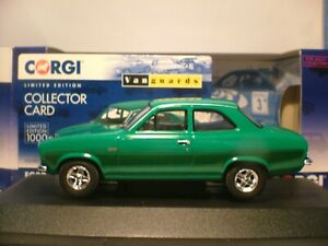 EXTREMELY RARE VANGUARDS 1/43 1974 FORD ESCORT MK1 RS2000 RIGHT HAND DRIVE NLA