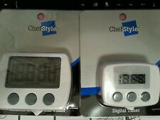 Lot of 2 kitchen clock and timers