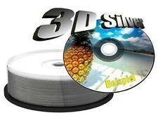 100 MEDIARANGE DVD-R 16x 4,7GB Inkjet Printable print stampabili dvd r MR415
