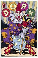 Dork 8 Slave Labor 2000 VF NM 1st Print Evan Dorkin Scary Clown