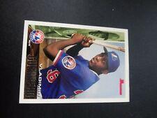 1995 Bowman Vladimir Guerrero Montreal Expos #90 Baseball Card