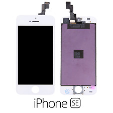 IPHONE SE LCD SCHERMO DISPLAY RETINA TOUCH SCREEN VETRO FRAME BIANCO