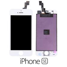 IPHONE SE LCD SCHERMO DISPLAY RETINA TOUCH SCREEN VETRO FRAME BIANCO