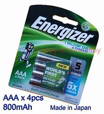Energizer NiMH AAA Battery x 8 pcs 800mAh Made in Japan FREE POST