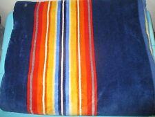 NEW Pendleton Spa Bath Towel Pool Beach Home Collection NWT Stripe Blue Multi