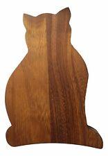 GATTO Tagliere, CAT Formaggio Board Legno Iroko dal negozio sul filo del rasoio