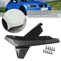 2 Universal Car Rear Bumper Lip Splitter Diffuser Chin Spoiler Canard Deflector