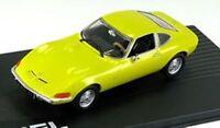OPEL GT Coupe 1968 Sportwagen gelb yellow IXO Altaya S-Preis 1:43