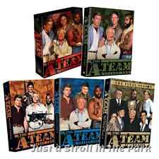 The A-Team: Complete Military Tv Series Seasons 1 2 3 4 5 Box / Dvd Sets New!