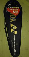 Black Knight Max-Force 910 Lt badmigton raquet racket New with Cover Strung,S