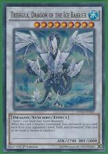 Yugioh Card - Trishula, Dragon of the Ice Barrier *Ultra Rare* DUSA-EN081 (NM/M)