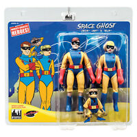 Space Ghost Series Retro Style 6 Inch Action Figures Jace, Jan & Blip Three Pack