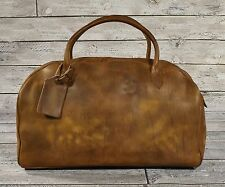 Ralph Lauren RRL Distressed Leather Duffle Bag New  1200 67ec46455666b