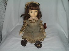 Vintage Monsieur Giraud Collectable Musical Doll plays Lauras Theme, Beautiful
