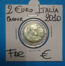 2€ COM italia 2010  FDC UNC MOLTO RARO SIGILLATO COMPRA SUBITO