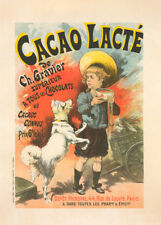 Cacao lacte, de Ch. Gravier by Lucien Lefevre 90cm x 64cm Art Paper Print
