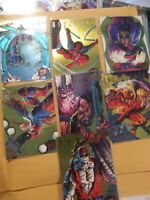 1995 Fleer Ultra X-Men GOLD HUNTERS AND STALKERS 7 CARDS OUT OF 9 FOR SET