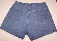 L.A. Blues Jeans Womens Shorts Blue Denim Size 8 Made In USA