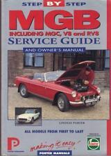 MG MGB,MGB GT,INCLUDING V8,RV8,MGC,MGC GT SERVICE MANUAL 1962-1980