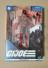 Hasbro 2020 GI Joe Classified Red Ninja Wave 2 Cobra Figure 6? HTF!!! MINT!!!