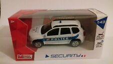 dacia duster police 1/43 mondo motors