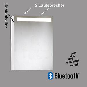 Armadietto a Specchio Armadio Bagno Maia LED 12W Bluetooth Altoparlante