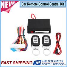 Vehicle Car Remote Control Central Kit Door Lock Locking Keyless Entry System