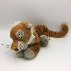 Disney Store Jungle Book Shere Khan Tiger Plush Stuffed Beanie Toy