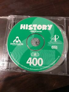 Switched On Schoolhouse (SOS) 2004 History great condition! 4th grade
