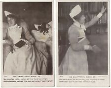 2 Real Photo Postcards The Exceptional Nurse Numbers 3 and 4 Medical