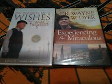 Lot of 2 Dr. Wayne Dyer DVDs Experiencing the Miraculous & Wishes Fulfilled 2012