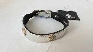 Collector Dog Collar - Collier Chien - Koko Von Knebel - Haute Couture Silver