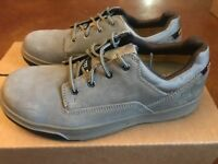 NEW CAT Caterpillar Men's Steel Toe BROWN SUEDE Oxfords (P90831) 9-M FREE SHIP