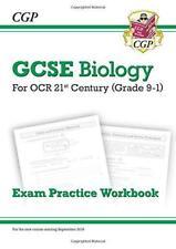 New Grade 9-1 GCSE Biology: OCR 21st Century Exam Practice Workbook by CGP Books