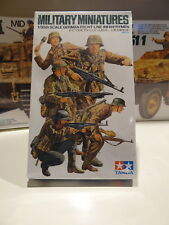 Maquette Militaria TAMIYA MINIATURE GERMAN FRONT LINE INFANTERY MEN N°196 1/35èm