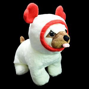 Miniso Life Puppy Dog Pug With Hood Heart Ears Plush Soft Stuffed Toy 37cm Tag
