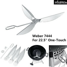 7444 Cleaning System Kit For Weber 22.5Inch One-Touch Charcoal Grill Accessories