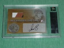 2005-06 ITG Ultimate Alexander Ovechkin RC 8/10 AUTO JERSEY His # 1/1 ROOKIE