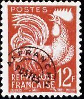 "FRANCE PREOBLITERE TIMBRE STAMP N° 111 "" COQ GAULOIS 12F "" NEUF xx TTB"