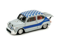 Fiat Abarth 1000 Gruppo 5 Corsa 1968 Livrea Blu  1/43 R380-02 Brumm Made  Italy