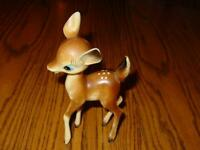 VINTAGE REINDEER Figure - ESTATE Find - Unique Christmas Decor Hong Kong - 6.5""