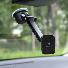 Dashboard Magnetic Car Windshield Mount Holder Cell Phone Tablet Long Arm Cradle