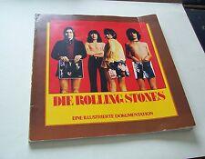 DIE ROLLING STONES - Illustrierte Dokumentation 1962 bis 1978 - LP Größe! Melzer