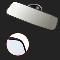 Car Truck Wide Flat Interior Rear View Mirror Strong Suction Stick Rearview