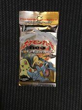 Pokemon Japanese Neo Genesis Booster Pack Factory Sealed