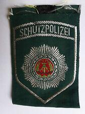 DDR Textilabzeichen Volkspolizei -Schutzpolizei- für Uniformbluse