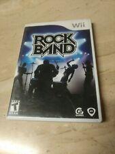 Rock Band Nintendo Wii