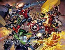 MARVEL - Final Battle Poster - Avengers Civil War Poster Captain America NIP